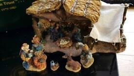 Christmas Boyd Bear nativity scene