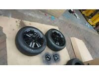 Ford focus alloy wheels x 4