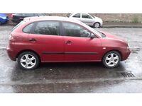 SEAT IBIZA 05 REG 1.2CC £795