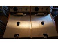 Double Deep Fat Commercial Fryer 7 litres per pan (2)