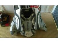 Full ice hockey goalie kit