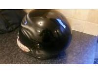 Motorbike helmet crash hat s/m