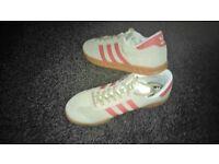 Mens Adidas Hamburg Trainers - Size 9 1/2 - Unworn