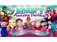 Children kids Party Entertainer Clown Magician Hire Mascots Ideas Rule of 6 & Beyond