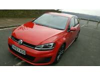 VW GOLF GTD 184BHP STUNNING RED FULL SERVICE HISTORY