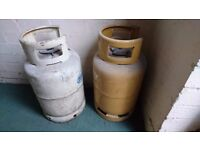 2 EMPTY GAS BOTTLES - COLLECTION ONLY