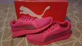 Puma Evo Pure Pink size 10