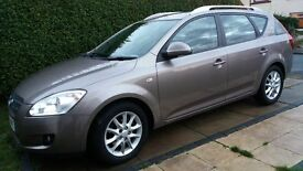 KIA CEED 2008 ESTATE-PERFECT CONDITION-FULL SERVICE HISTORY-8 MONTHS MOT-1 PREVIOUS OWNER-HPI CLEAR