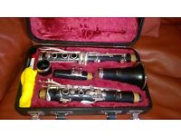 Clarinet Yamaha 26II ideal for student or beginner