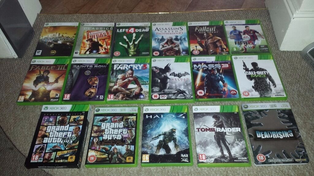 Pictures Of Xbox 360 Games Collection Kidskunstinfo