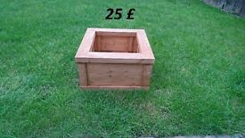 Raised Timber Garden Planter, Veg Planter, Herb Planter, Flower Box