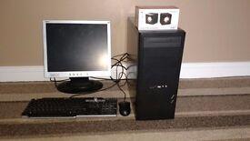 Compaq Quad Core 2.5Ghz 4GB Gaming Full PC System 2.5Ghz 520GT 4GB 500GB Windows 10 30 Day Warranty