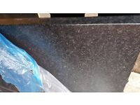 'Howdens blackstone' Laminate Kitchen work top 580mm long