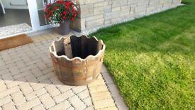 Oak Whisky Barrel Tubs