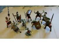 Toy Roman figures