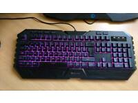 Cool master Cm Storm Octane multicoloured keyboard and mouse