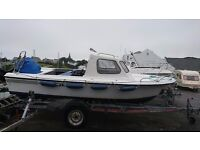 SOVEREIGN 18 FAST FISHER, 60 HP 4 STROKE MERCURY, R'COASTER £3250