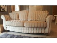 Beautiful large sofa for sale. Georgian style roll-top arms. Pick up central Guildford.