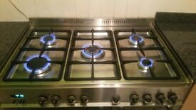 Delonghi dual fuel cooker 5 range cooker