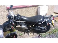 Selling suzuki vanvan 125 manual geared