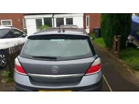 Astra h 05reg- 1.8 petrol as spares or repair