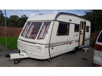 1996 Abbey Challenger 5-6 berth caravan