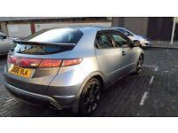 Honda Civic Sport iCdti 2.2 diesel 10 month MOT Full serive History 50 to 60 mpg low Tax £130 a year