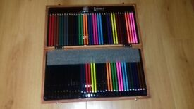 Pencil art set plus paint set & felt tips