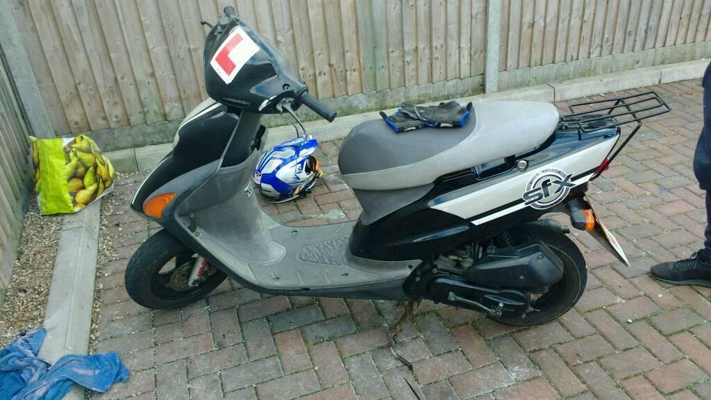 Honda Sfx 50cc 2 Stroke Scooter Moped Swap Or Sale In Norwich