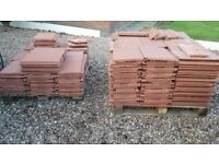 Roof tiles and 4 vents Condron Slate Terracota. Almost new (see details)
