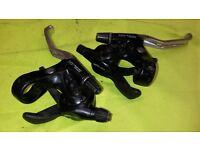 Old School Retro Classic Shimano LX SLR Plus Combo Trigger Shifters 8 Eight Speed Rapidfire