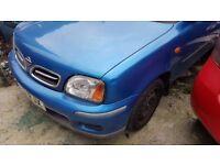 Nissan Micra 2000 year, low mileage, petrol, manual, 5 doors