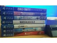 Sony PS4 Slim 500GB boxed with 7 Games in Excellent Condition