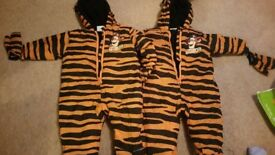 Tigger pramsuits size 3-6 months