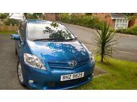 Toyota Auris TR, 1.33 Litre Petrol, Manual, Metallic Blue, Nov 2011, 75800 Miles, £4300 ono