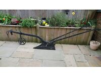 ANTIQUE Horse Drawn Plough x 2