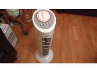 Fan Swivelling Standing Slimline Rotating Standing Fan Circular Tower