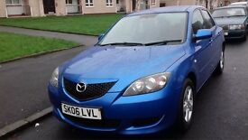 "♨""1 LADY OWNER"" 1Yr MOT 2006 MAZDA 3 1.6S 5DR♨""NEW SHOCK ABSORBER""EXCELLENT CONDITION!!"