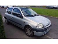 V Reg (1999) Renault Clio 1.2 - Grey