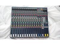 Soundcraft efx 12 channel mixer
