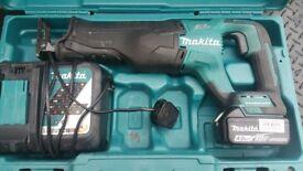 Makita DJR 187 18V Brushless Reciprocating Saw