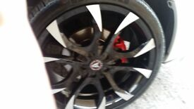 Insignia alloy wheels and tyres
