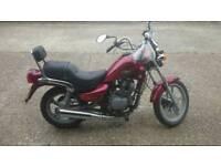 Hyosung cruise 2 125cc motorcycle