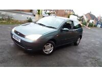 Ford focus 1.4 51reg immaculate condition mot til may £250 no offers!!!!!