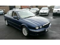 2002 JAJUAR X TYPE VERY LOW MILES *54000* 2.5 V6 4X4 CHEAPER PX WELCOME £695