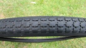 Bicycle Tyre. 'Raleigh Record' 20 x 1 3/8. In Very Good Used Condition. £2.