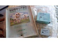 Subbuteo table cricket 1974/75