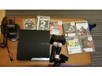 ps3. move controllers. games.