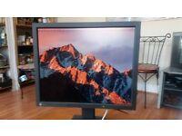 "EIZO FlexScan L685 Dual Input 18"" monitor + cable"