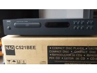 Nad C521 BEE CD player.